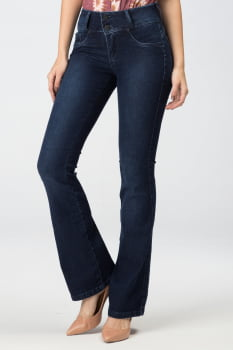 Calça Flare Jeans Levanta Bumbum F2020261