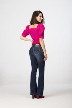 Calça Flare Jeans Levanta Bumbum F2020306