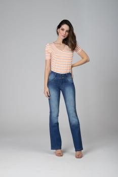 Calça Flare Jeans Levanta Bumbum F2020434