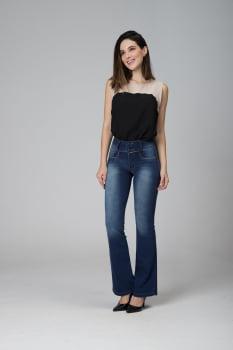 Calça Flare Jeans Levanta Bumbum F2020495