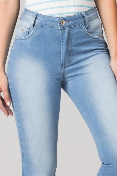 Calça Jeans Cintura Alta F2021015