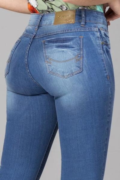 Calça Jeans Cintura Alta F2021706