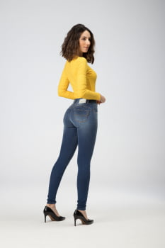 Calça Jeans Feminina Levanta Bumbum F2020278