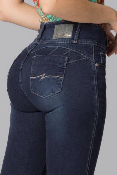 Calça Jeans Feminina Levanta Bumbum F2021038
