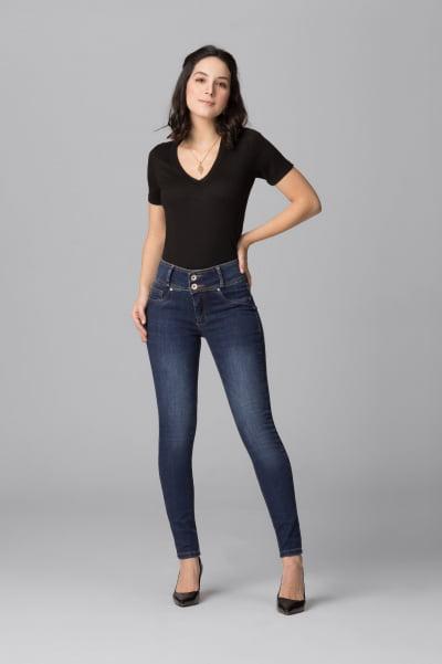 Calça Jeans Feminina Levanta Bumbum F2021040