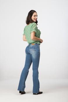 Calça Jeans Flare Levanta Bumbum F2020304