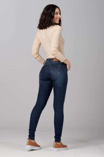 Calça Jeans Skinny Cintura Alta F2021605