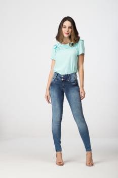 Calça Jeans Skinny Levanta Bumbum F2020290