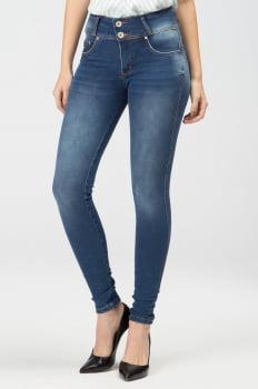 Calça Jeans Skinny Levanta Bumbum F2020276