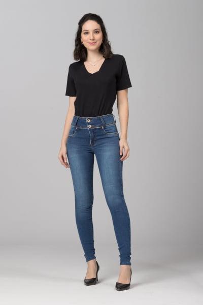 Calça Jeans Skinny Levanta Bumbum F2021060