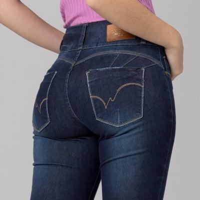 Calça Jeans Skinny Levanta Bumbum F2021603