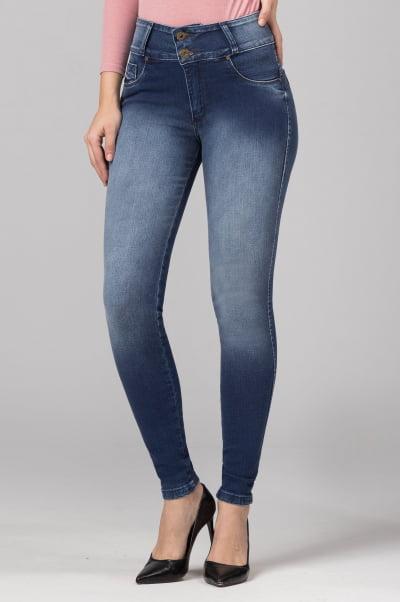 Calça Jeans Skinny Levanta Bumbum F2021701