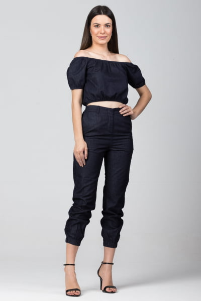 Conjuntinho Jeans CJF001