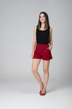 Short Marsala Feminino F2020408
