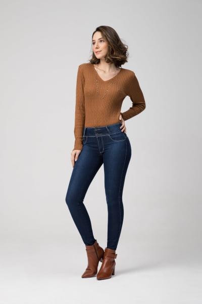Calça Jeans Feminina Levanta Bumbum F2020187