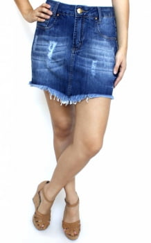 Saia Jeans Feminina Clara SA12012