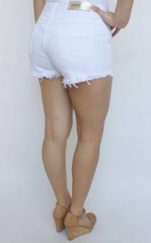 Short Branco Feminino Destroyed S172022