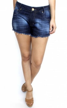 Short Jeans Escuro Feminino S172025