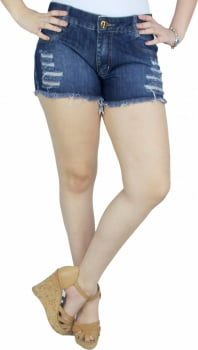 Short Jeans Feminino S191003