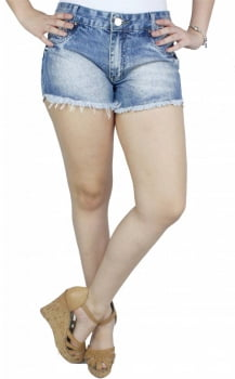 Short Jeans Feminino S191004