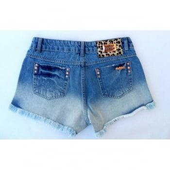 Shorts Jeans Feminino Degradê F2118