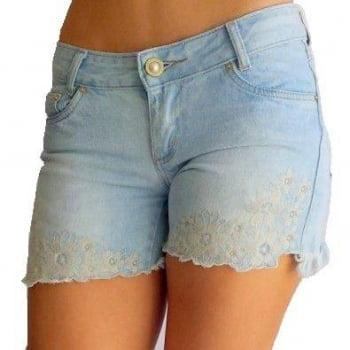 Shorts Jeans Feminino F2144