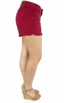 Short Marsala Feminino De Sarja S172014