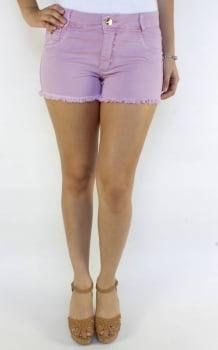Short Rosa Claro Feminino de Sarja S172002